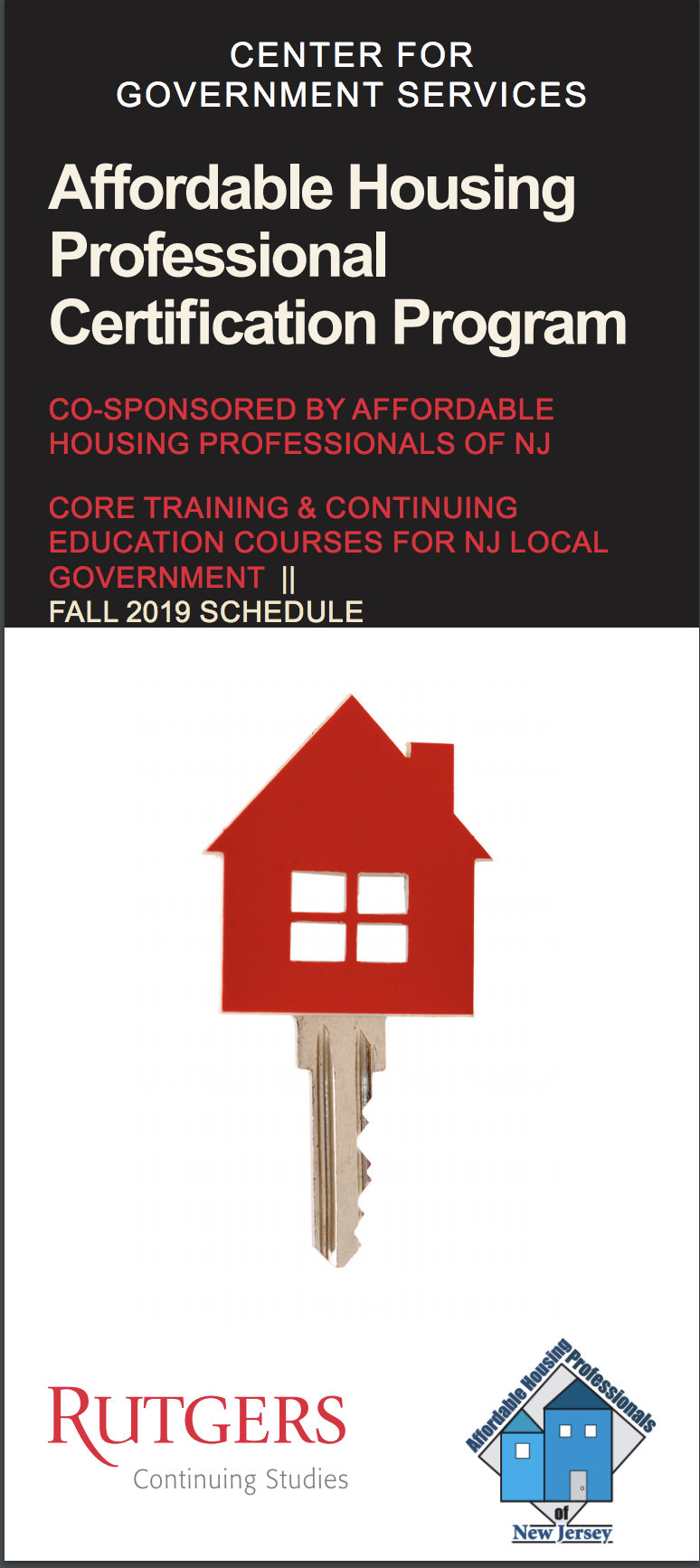 Affordable Housing Professional Certification Program